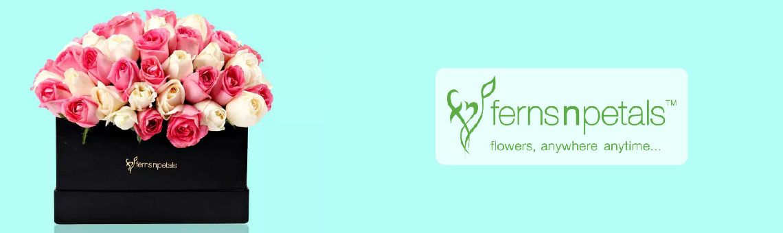 Ferns n Petals Banner