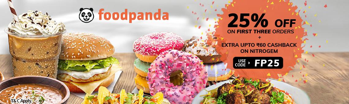 Foodpanda Banner