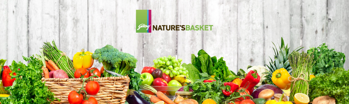 Godrej Nature's Basket Banner