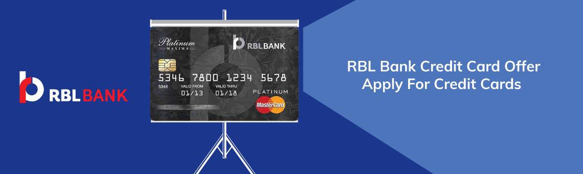 RBL Bank Banner