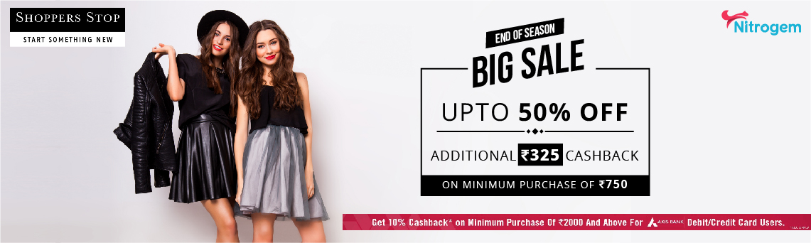 Shoppers Stop Banner