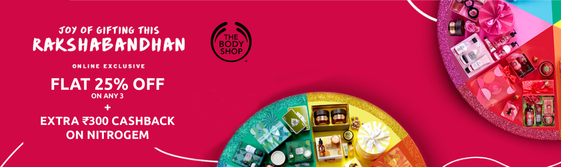 The Body Shop Banner