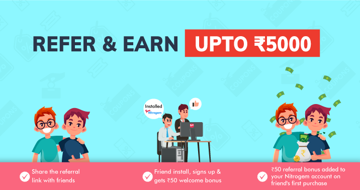 Refer & Earn Upto 5000