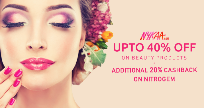 Upto 40% OFF On Beauty Products