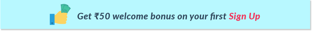 Sign Up Bonus Banner